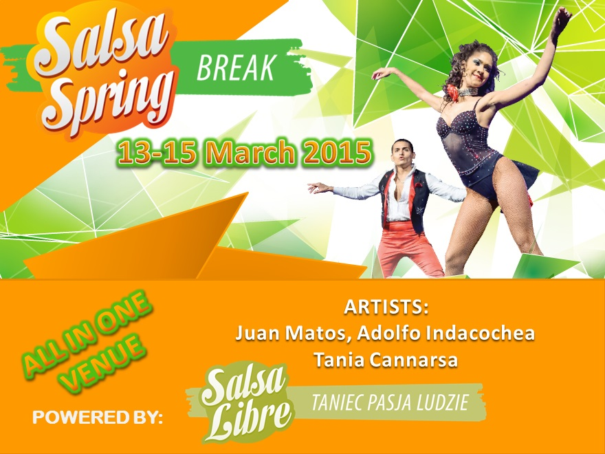 Salsa Spring Break 2015 - Wake up to Salsa!