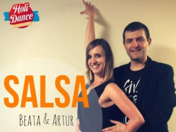 HoliDance- salsa on2 od podstaw z Beatą i Arturem 26.08